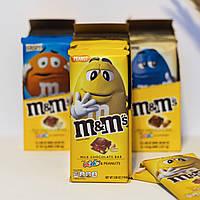 Шоколад M&Ms Peanut с арахисом и разноцветным драже ммдмс