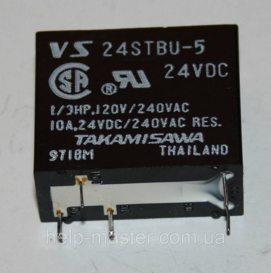 Реле электромеханическое  VS-24STBU-5 (24VDC)
