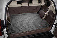(7 мест) Коврик резиновый в багажник, черный. (WeatherTech) - Land Cruiser Prado - Toyota - 2009