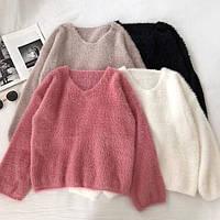 Женский тёплый свитер (4 цвета)