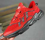 Мужские спортивные кроссовки Adidas Ozweego (красные) 10344 демисезонные низкие кроссы, фото 8
