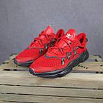 Мужские спортивные кроссовки Adidas Ozweego (красные) 10344 демисезонные низкие кроссы, фото 6