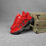Мужские спортивные кроссовки Adidas Ozweego (красные) 10344 демисезонные низкие кроссы, фото 7