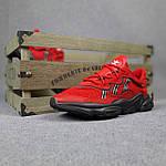 Мужские спортивные кроссовки Adidas Ozweego (красные) 10344 демисезонные низкие кроссы, фото 9