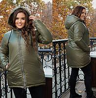 Зимова куртка великого розміру, з 50-66 розмір