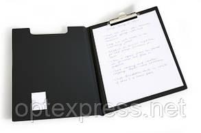 «Standard» Клипборд с зажимом для бумаги закpывающийся DURABLE 2357 01 черный