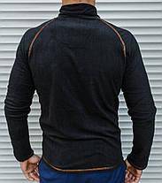 Чоловіча термо-кофта в стилі Сolumbia із щільного мікро флісу, фото 3