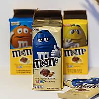 Шоколад M&Ms Almond с миндалем и разноцветным драже ммдмс