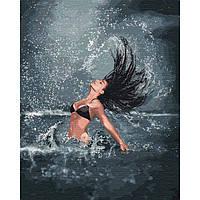 "Картина по номерам. ""Владычица моря"" 40*50см KHO4744"