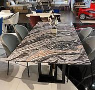 Стол  с мраморной столешницей Эклипс 200 PRESTOL
