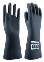 Неопреновые рукавицы против химических веществ Portwest A820 Черный, XL