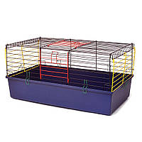 Клітка для гризунів Кролик 790 х 450 х 390 мм фарба різні кольори
