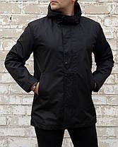 Мужское пальто тренч на флисовой подкладке, фото 3