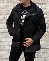 Мужское пальто тренч на флисовой подкладке, фото 2