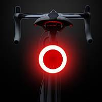 Супер яркий задний фонарь для велосипеда (COB led, 5 режимов, USB, Встроенная батарея) вело габарит