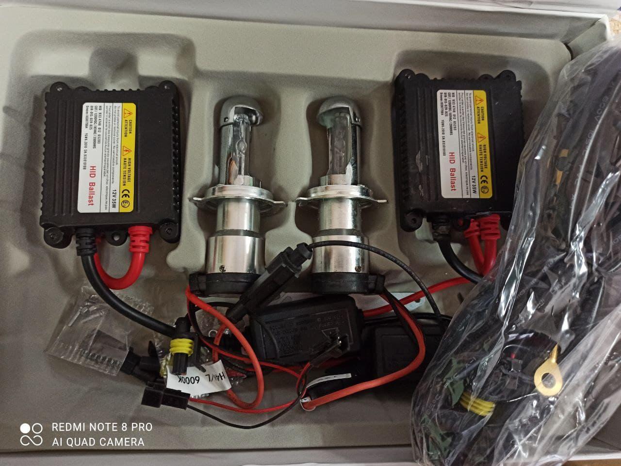 Лампа Биксенон, Ксенон  цоколь H4 HID H/L автомобильный свет 6000К