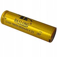 Аккумулятор Li-ion Bailong 4.2V 18650 8800 mah (Gold)