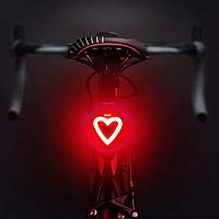 Супер мощная задняя фара для велосипеда (COB led, 5 режимов, USB, Встроенная батарея) велосипедный габарит