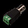 Коннектор для передачи видеосигнала Green Vision GV BNC/F (female) (1уп =10шт)