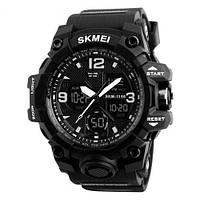 Skmei 1155 B hamlet черные мужские спортивные часы, фото 1