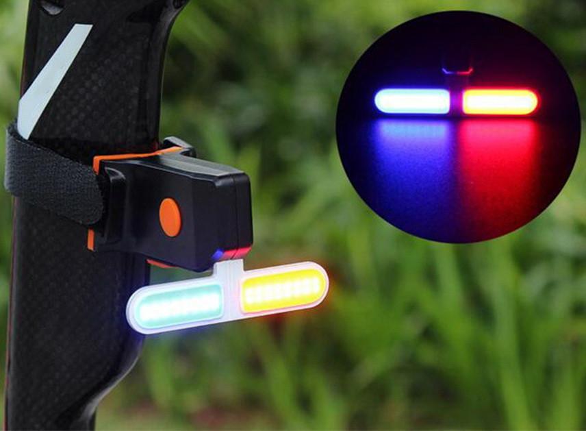 Супер яркий COB светодиодный велосипедный фонарь ZACRO Вело фара (COB led, 5 режимов, USB, Встроенная батарея)