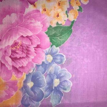 Наволочка на молнии BAODA сатин 70 х 70 см (25546) Розовые пионы