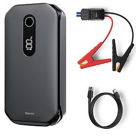 Автомобильное пуско-зарядное устройство Baseus Super Energy Pro Car Jump Starter 12000mAh Black (CRJS03-01)
