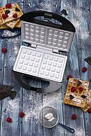 Вафельница для вафель электровафельницы электрическая вафельница Camry CR 3019 1000W для бельгийских вафель