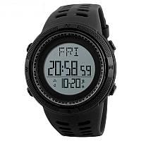 Skmei 1295 Черные мужские спортивные смарт часы, фото 1
