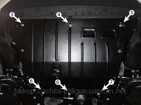 Защита картера AUDI A3 c 2012 г.