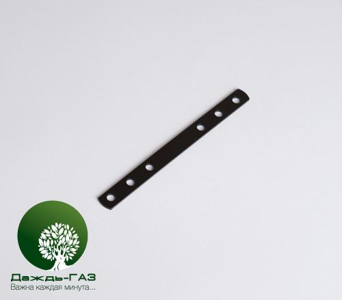 Планка крепления форсунок черная 140x12x2 мм