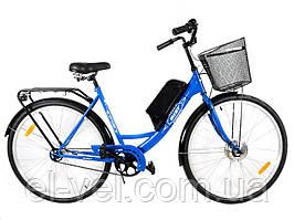 Электровелосипед  АИСТ28  36В 300-350Вт литиевая батарея 10,4Ач