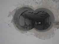 Алмазне буріння свердління отворів під стояки на витяжку, фото 1
