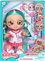 Кукла Кинди Кидс доктор врач Синди Попс Kindi Kids Fun Time Dr Cindy Pops 50036 оригинал