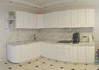 Угловая кухня 2,0*3,0 м MDF крашенный 3
