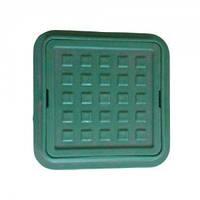 Люк квадратный 300*300 зеленый