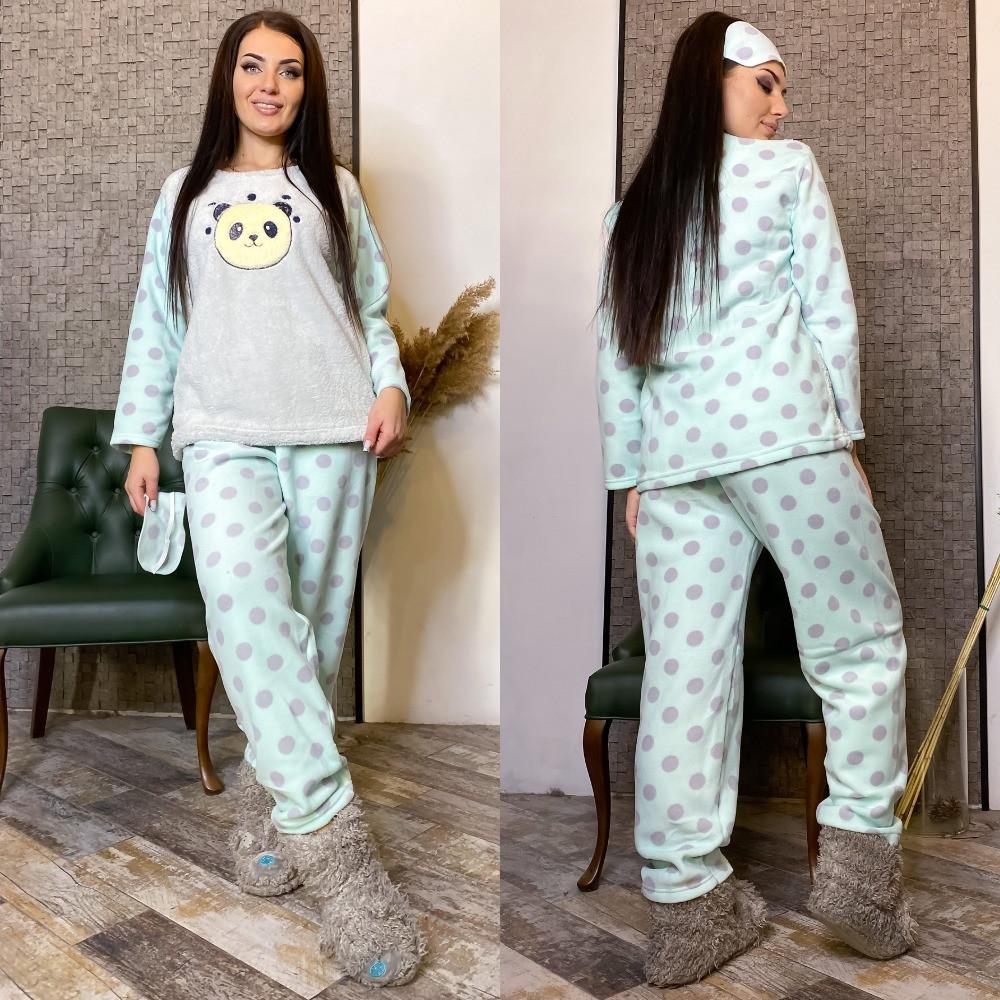 Теплая пижама батал