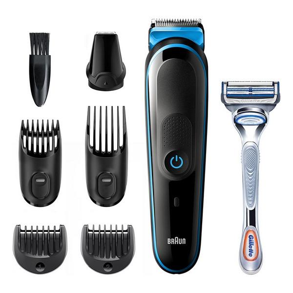 Тример для бороди та вусів Braun MGK3242