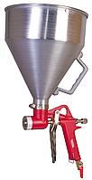 Пневмопистолет для нанесения штукатурки ХОПР ВБ 5000 мл, алюминий, 5 бар MASTERTOOL 81-8769