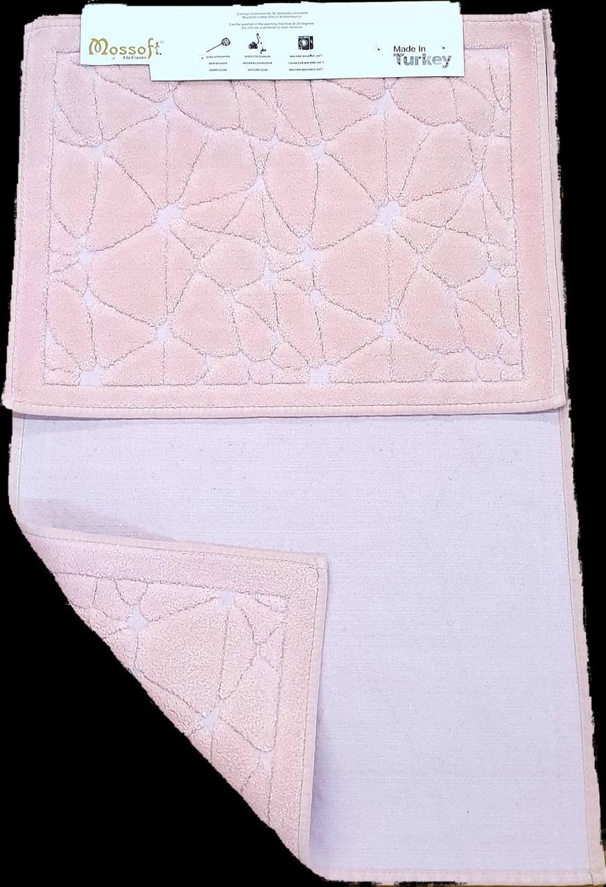 Набор ковриков  COTTONI пудра 50х60 и 60х100