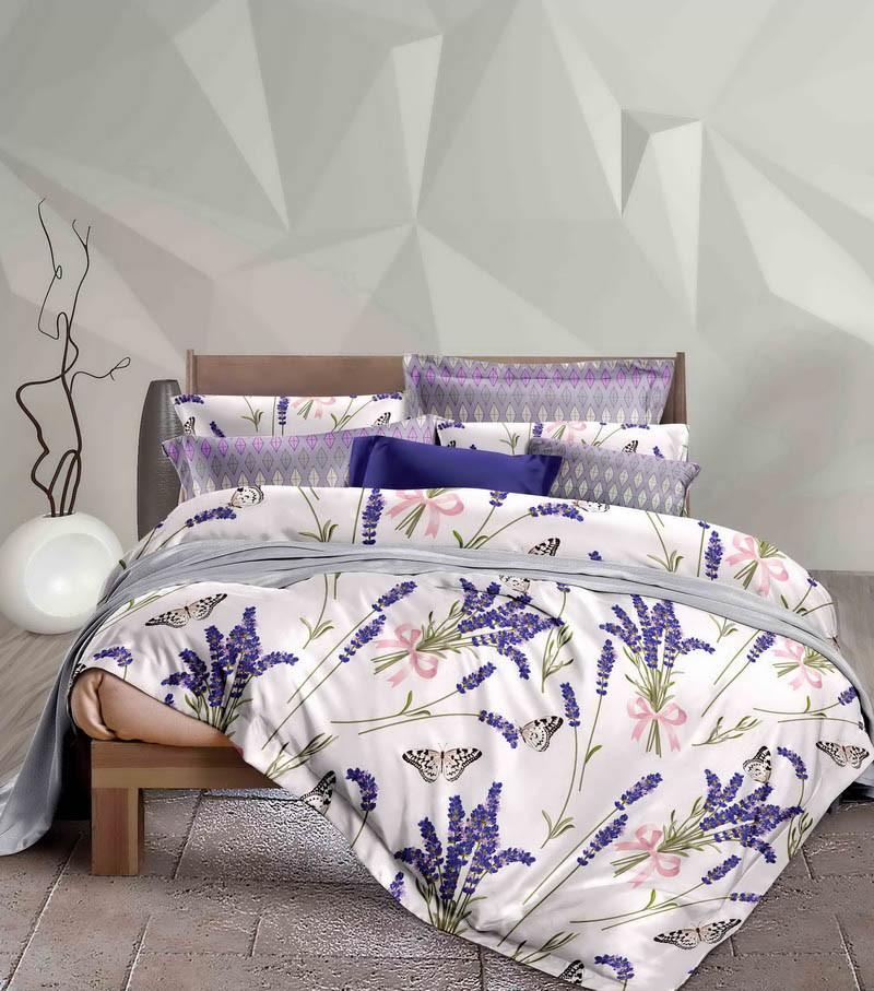 Комплект постельного белья Stella Prima Сатин 200 x 220  SP-1030 Eu