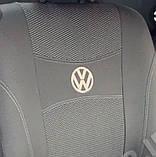 Авточехлы на передние сидения Volkswagen LT 1+2 1996-2006 года Ника, фото 4