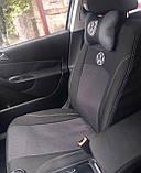 Авточохли на передні сидіння Volkswagen LT 1+2 1996-2006 роки Ніка, фото 3