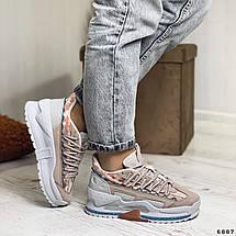 Модные кроссовки на высокой подошве 6887 (ММ), фото 2