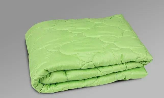 """Ковдра VIVA """"Бамбук"""" , 172*210 мікрофібра зелена"""