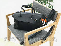 Cаквояж кожаный дорожный LS-07-CH Черный