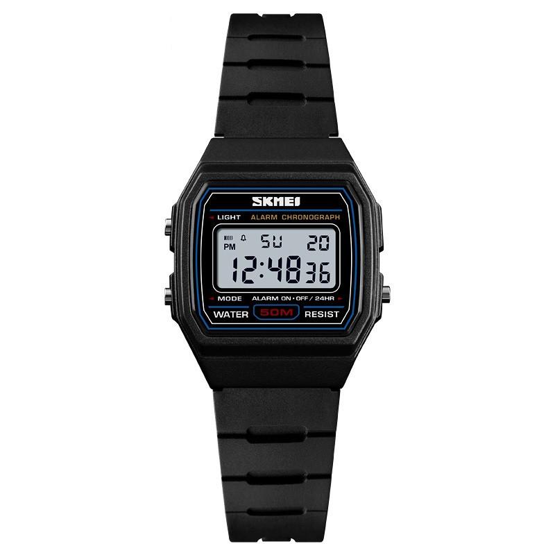 SKMEI 1460 черные детские спортивные часы
