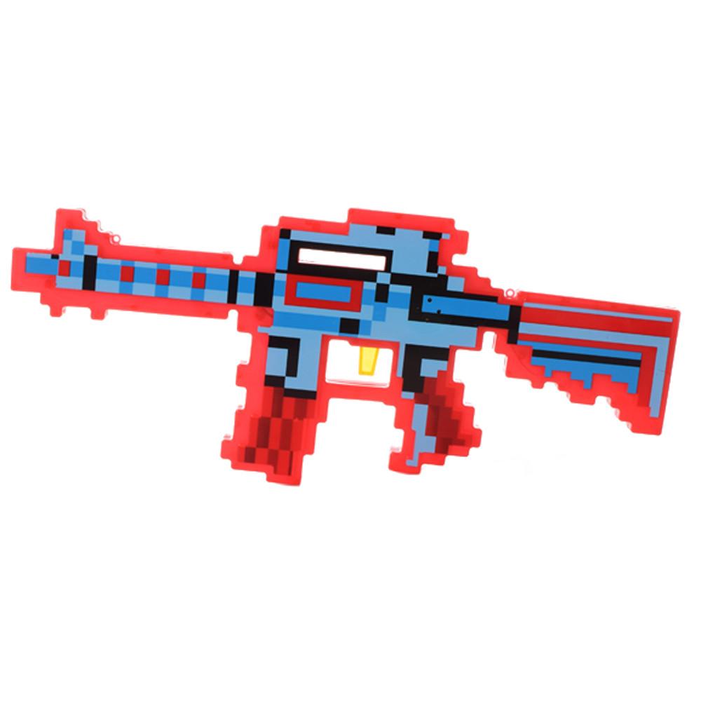 Автомат 0223-2(Red) MK, 39см, звук (англ)