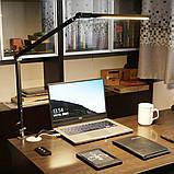 Настольная лампа на гибкой ножке на струбцине SL-61 10W BK, фото 8