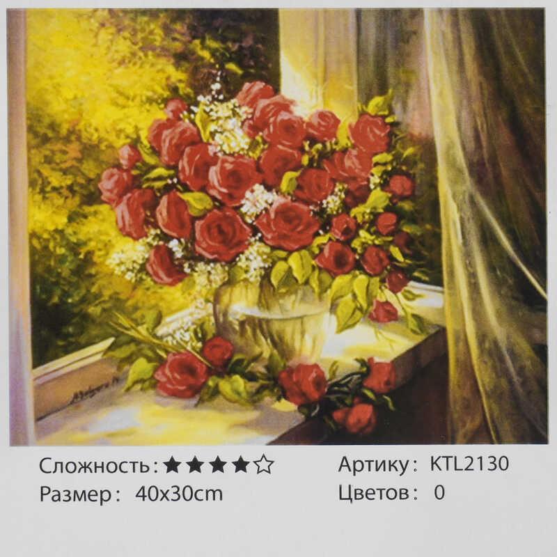 Картина по номерам KTL 2130 (30) 40х30 см, в коробке